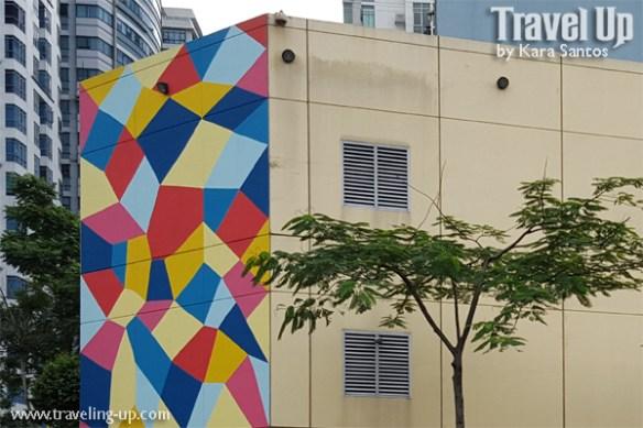 magic diamond pattern by kristin farr BGC mural