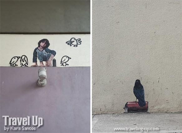birds & kid nate frizzell artwork BGC murals