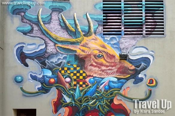 egg fiasco pilandok mouse deer artwork BGC murals