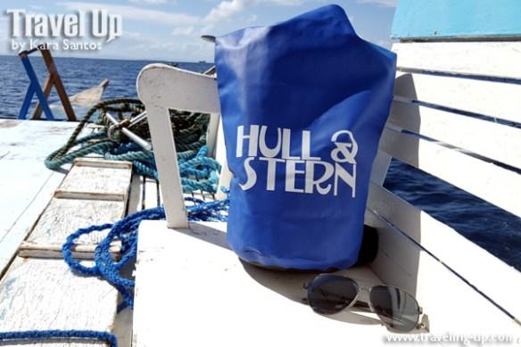 hull & stern dry bag boat shades cebu