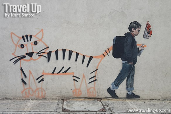 tiger & kid nate frizzell artwork BGC murals
