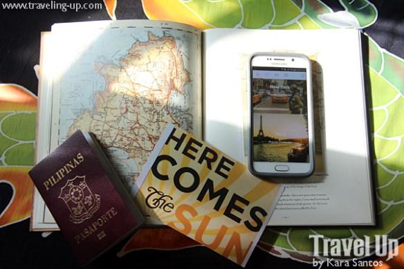airbnb app passport map sun