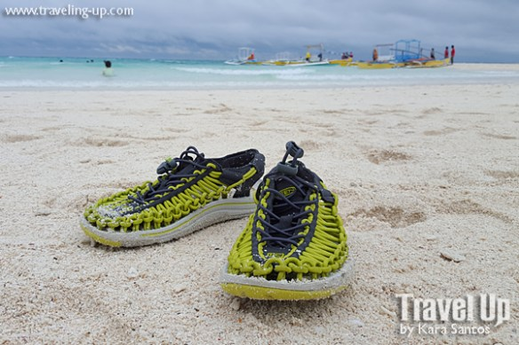 keen uneek sandals white island beach camiguin