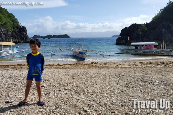 tugawe cove resort caramoan beach dock