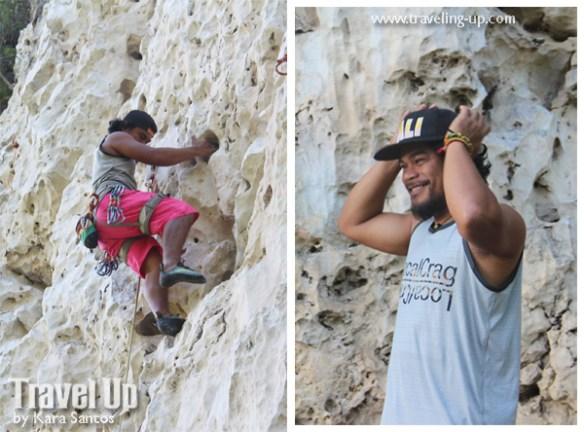rock climbing poog cebu enie yonson