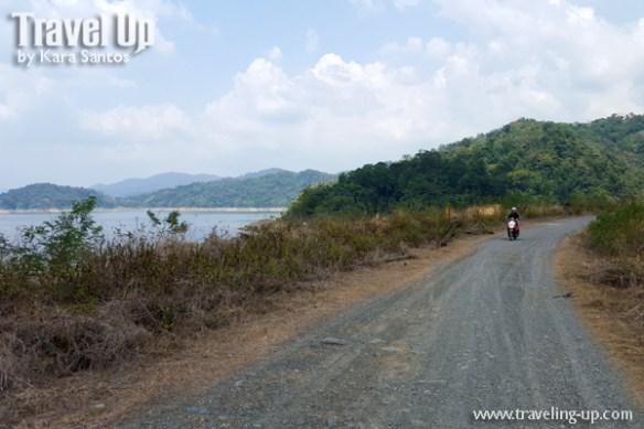 angat dam bulacan gravel road travelup
