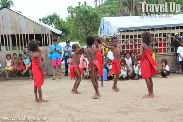 freewaters phiilppines aurora launch dance number dumagat kids