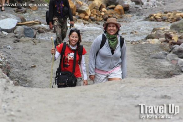 hiking mt. pinatubo trail
