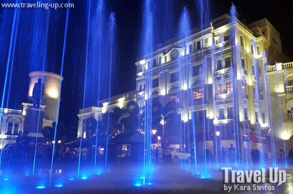 the plaza hotel bataan fountain