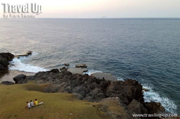 sabtang island batanes view from lighthouse sea