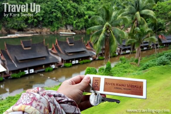 day 5 river kwai village hotel key thailand