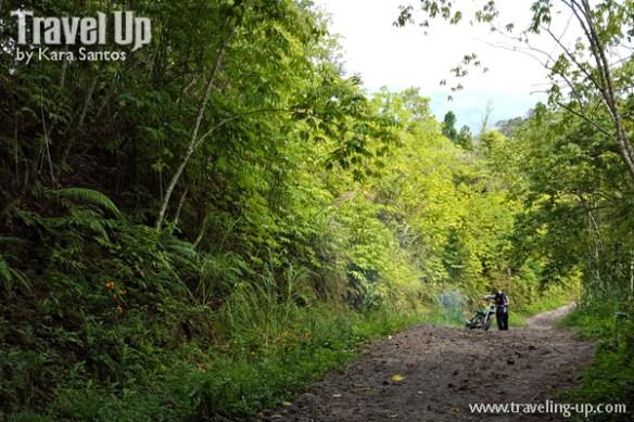 road to lake holon south cotabato dirt trail