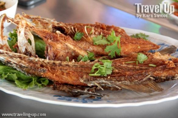 thailand crispy fish in tamarind sauce