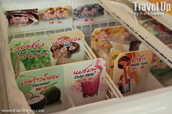 thailand popsicles coconut milk tea flavor
