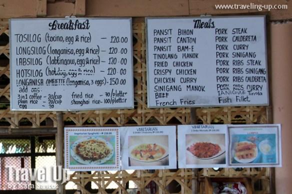 agta-beach-resort-biliran-menu