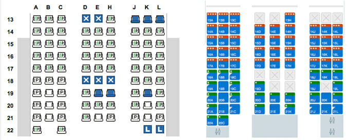 Aa seat assignment