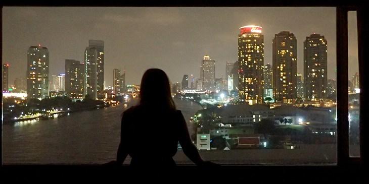 City at night - small