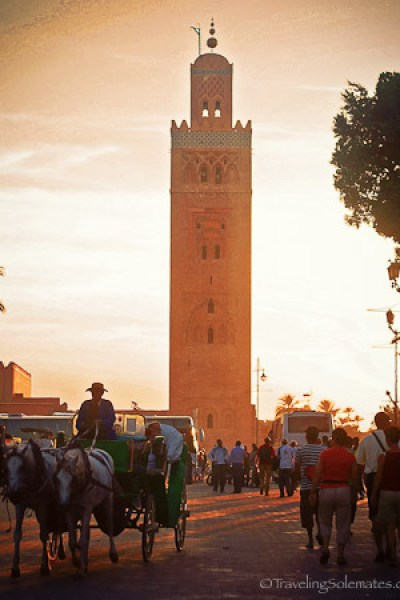 Koutoubia Mosque Marrakesh