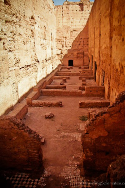 Ruins of El Badi Palace Marrakesh