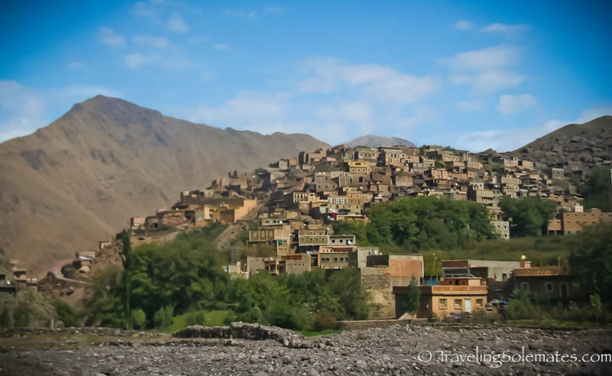 Village of Armed, High Atlas Mountain, Morocco