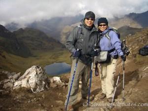 Hualcajasa Pass , Lares Valley Trek Peru