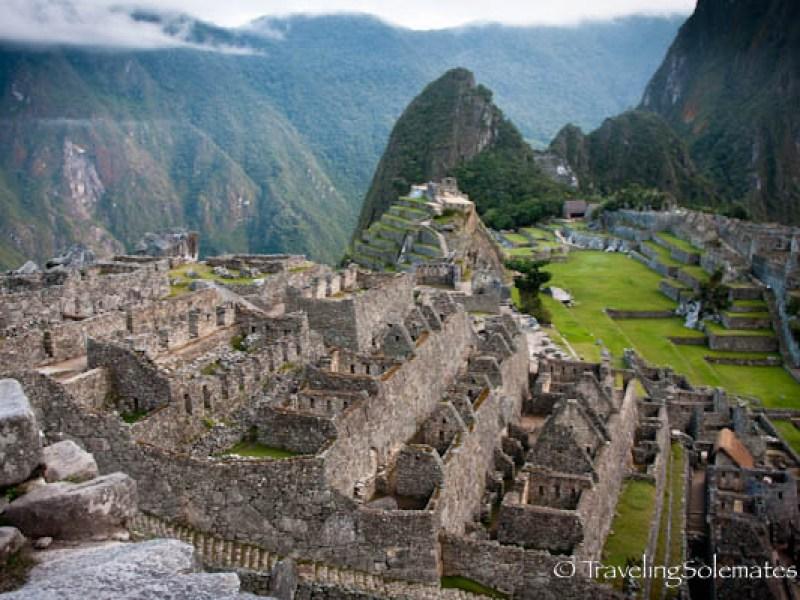 The Ceremonial Baths in Machu Picchu