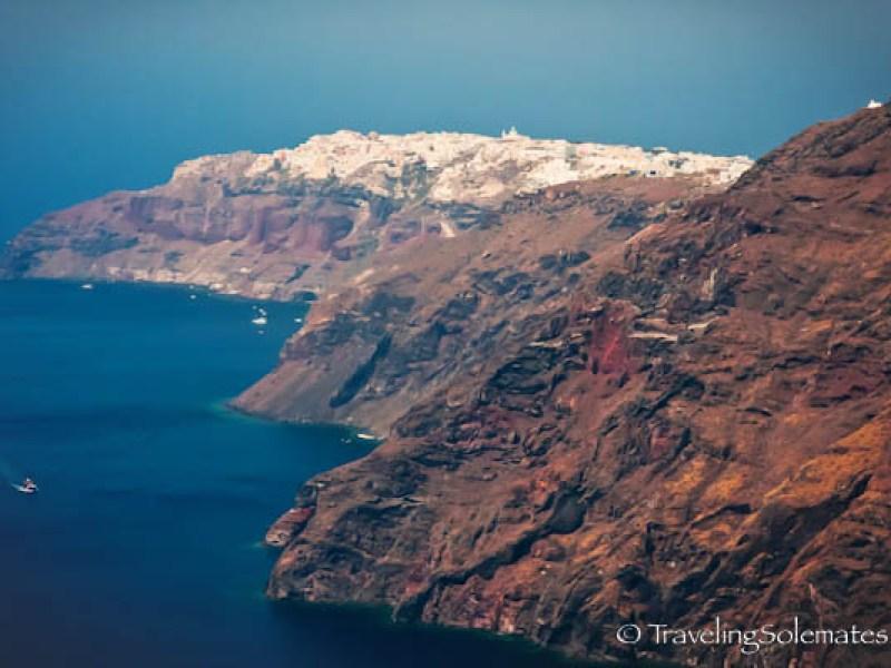 Caldera, Santorini, Greece