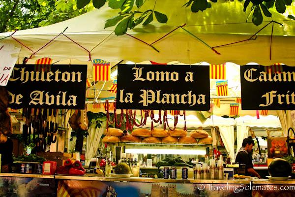 Tent Restaurants, Fiesta de San Fermin, Pamplona, Spain