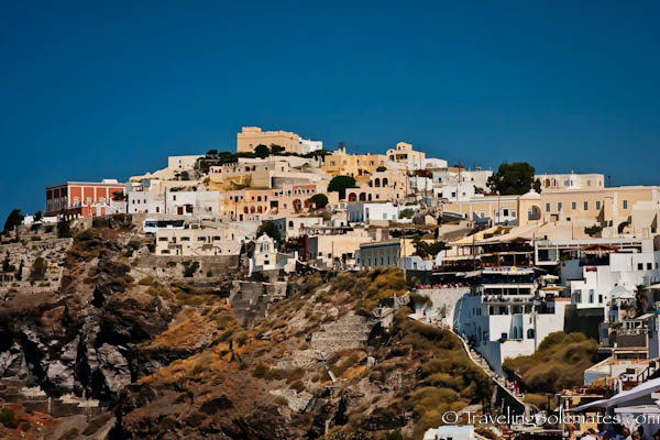 Village of Fira, Santorini, Greece