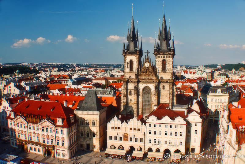 Church of Our Lady Before Tyn, Old Town Square (Stare Mesto), Prague, Czech Republiic