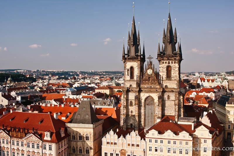 Tyn Church, Old Town Square (Stare Mesto), Prague, Czech Republic