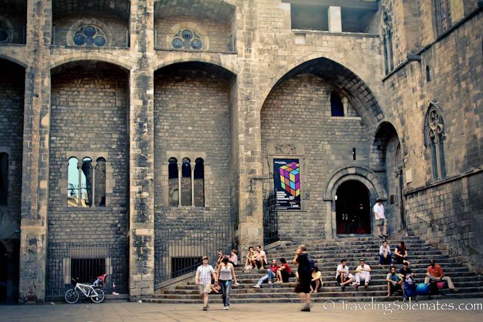 Plaza Del Rei Gothic Quarter Barcelona Spain