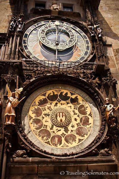 Astronomical Clock, Old Town Square (Stare Mesto), Prague, Czech Republic
