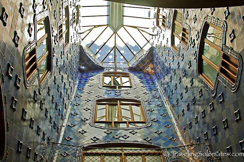 Gaudi's Casa Battlo, Barcelona, Spain