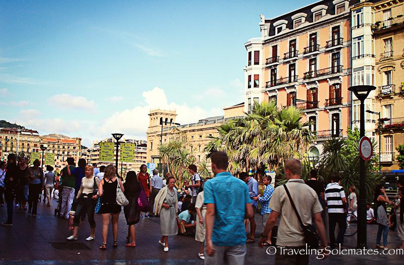 16-Old Quarter, San Sebastian, Spain.