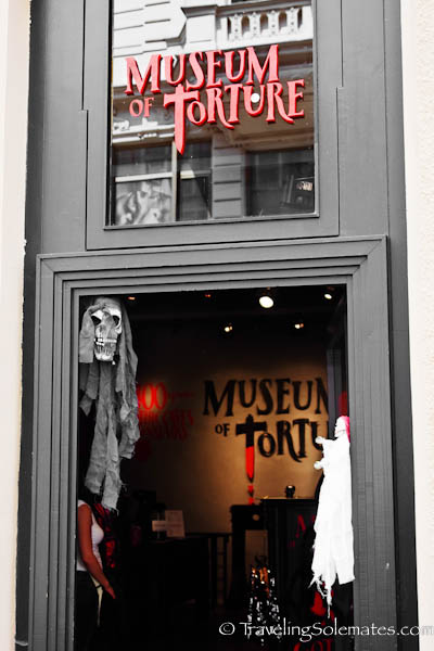 Museum of Torture Stare Meto (Old Town) ,Prague, Czech Republic
