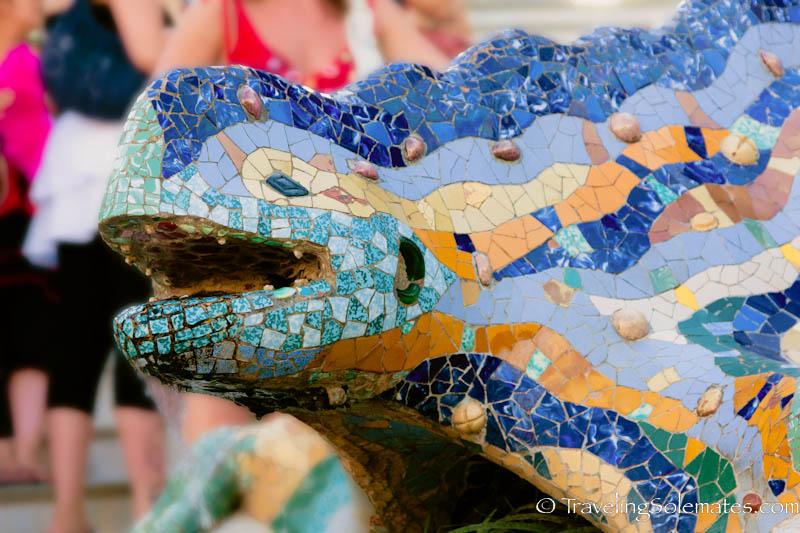 Lizard, Gaudi's Parc Guell, Barcelona, Spain