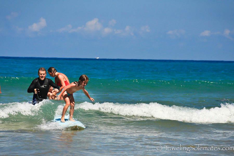 Surfing School, Playa de la Zurriola, San Sebastian, Spain
