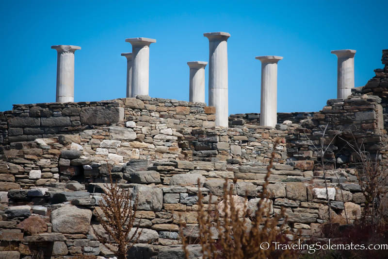 The Temple of Apollo,  Delos, Greece