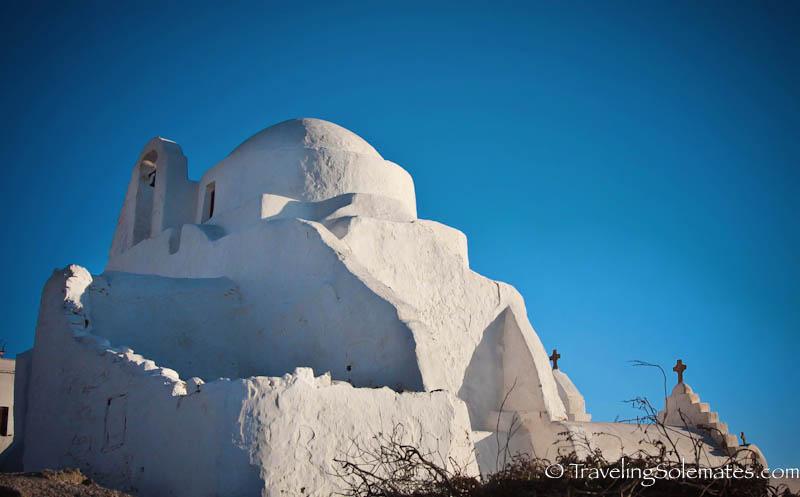 Church of Panagia ParaportianaLocals, Mykonos, Greece