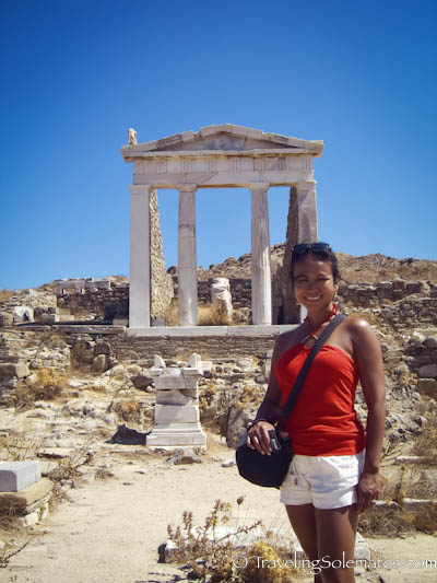 Temple of Isis, Delos, Greece
