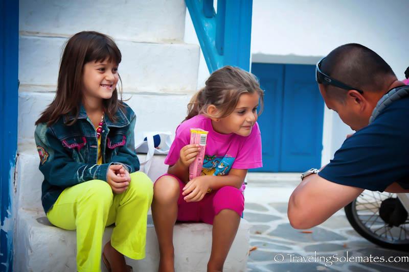 Children of Mykonos, Greece