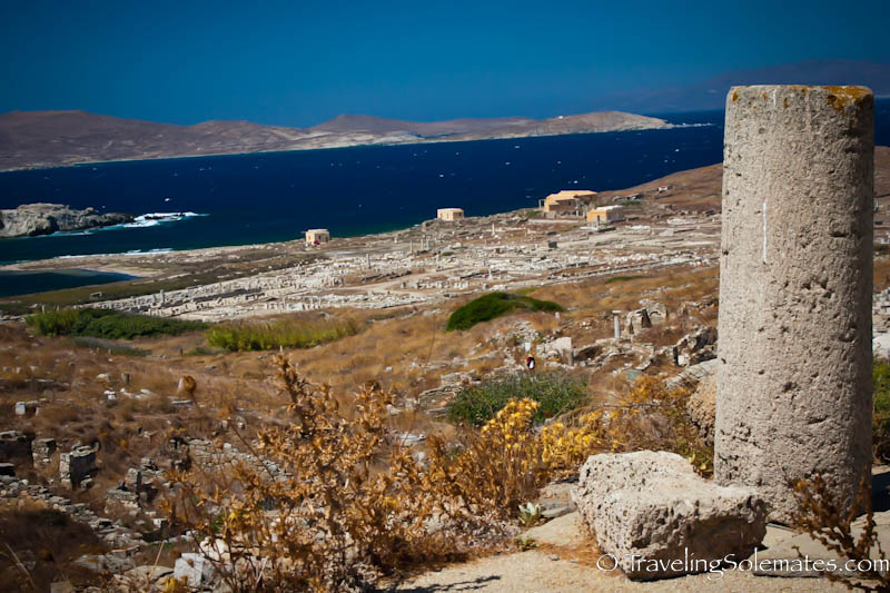 Ruins in Delos, Greece