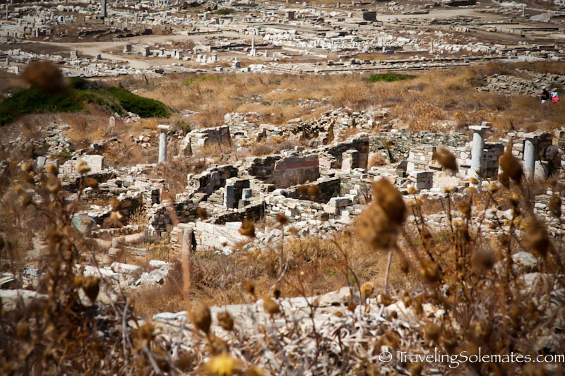 Santuaries of Foreign Gods, Delos, Greece