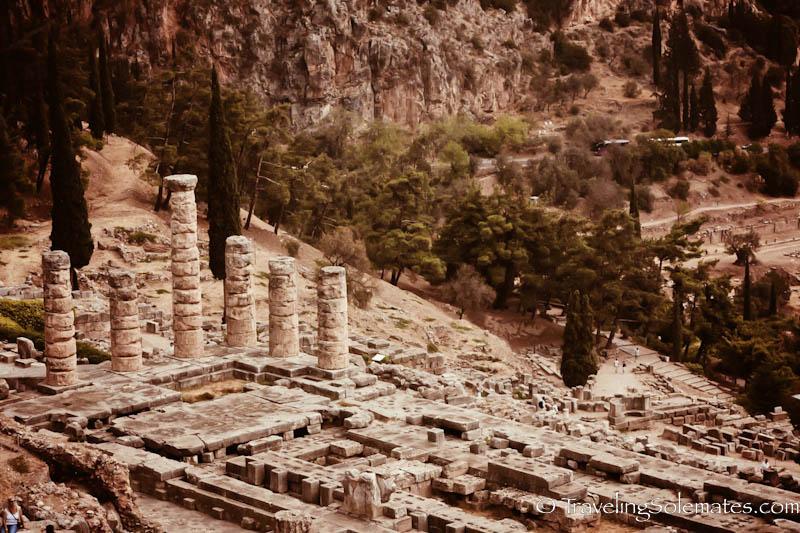 The Sanctuary of Apollo, Delphi, Greece