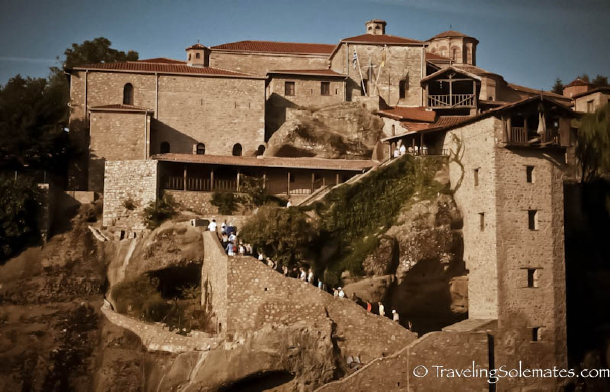 Monastery of Megalou Meteoroo (Great Meteoron), Meteora, Greece