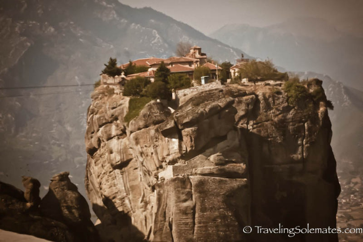 Monastery of Agias Triadas (Holy Trinity), Meteora, Greece