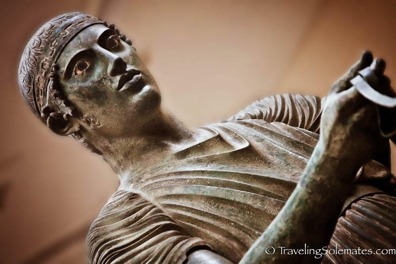 The Charioteer, Museum in Delphi, Greece