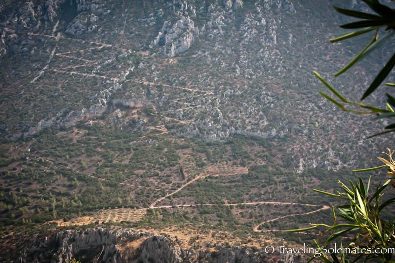 Valley of Delphi, Greece
