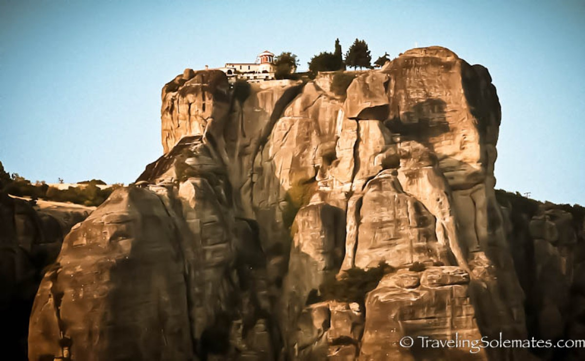 Monastery of Agiou Stefanou, Meteora, Greece